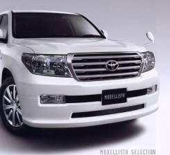 Передняя губа Modellista на Toyota Land Cruiser 200 2008-2012. Отправка