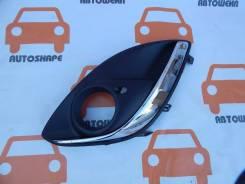 Окантовка правой противотуманной фары Opel Corsa 2010-2014 [13344798]