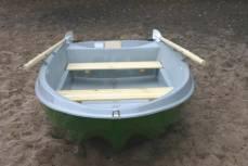 Моторно-гребная Стеклопластиковая прочная и долговечная лодка Шарк-255