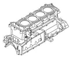 Продам новый блок двигателя гидроцикла Yamaha FX FZR SVHO