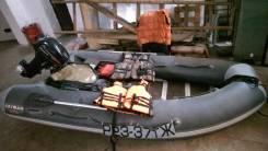 ПВХ лодка Кайман 360, мотор Hidea 15