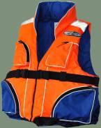 Спасательный жилет Франкарди 130 кг. с карманами(2я речка)