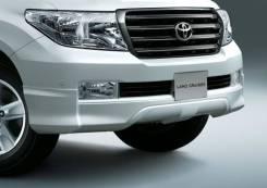 Губа передняя Toyota Land Cruiser 200 2007-2011. Отправка по Миру!