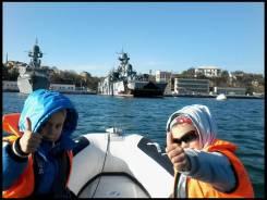 Моторная лодка Риб с мотром