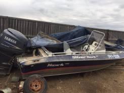 Моторная лодка SilverHawk 520 с мотором Yamaha 115