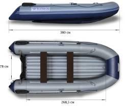 Лодка Флагман 380 НДНД в Новосибирске