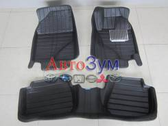Коврики комплект 3D Boost Toyota Corolla AXIO кож зам, XPE, NEW 4wd