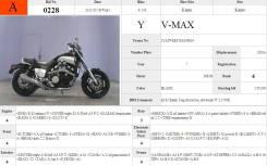 Yamaha V-Max 1200, 1995