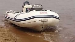 Лодка моторная Suzumar 20 л. с с двигателем RIB350