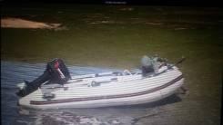 Лодка надувная с мотором