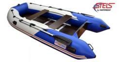 Лодка ПВХ Стелс 355 (Хантер)+Страховачный жилет