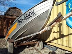 Продам моторную лодку Wellboat 37 2015г. в.