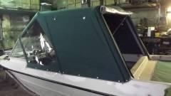Пошив тента ходового для лодки «Крым»