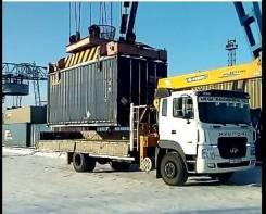 Эвакуатор-кран 7,5 тонн. Борт 8 тонн.