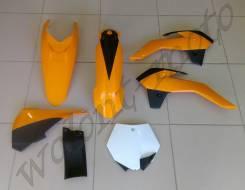 Комплект пластика Polisport KTM SX85 13-14 оранжевый 90555