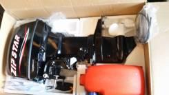 Продам лодочный мотор 30л. с. ZIP STAR. С электро стартером. Новый.