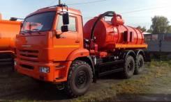 АКН-10-01-43118 на шасси КАМАЗ-43118-3918-46 вакуумная, 2019