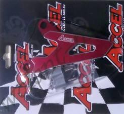 Защита передней звезды Accel Honda CRM250R/AM 91-98 Красный FSC-03