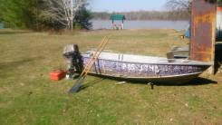 Продам цельно-сварную лодку Windboat-45