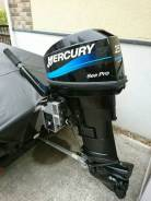 Лодочный мотор Mercury Sea Pro 25 от JU Motors во Владивостоке.