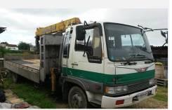 Hino Ranger. Продаётся грузовик HINO Ranger с крановой устоновкой, 7 500куб. см., 5 000кг., 4x2
