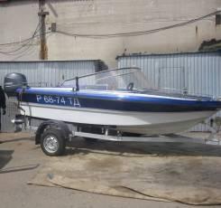 Моторная лодка Нептун3+мотор Yamaha F60cetl+прицеп