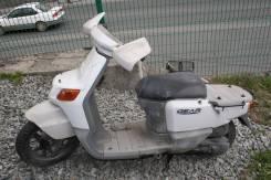 10.Yamaha Gear 50/2T мопед для перевозки грузов на багажной площадке можно устанавливать короб, ящик, 2005
