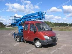 """ГАЗ 3302. Автовышка ГАЗ-33023 Фермер """"ГАЗель-Бизнес"""" коленчатая ПМС-212-02, 2 690куб. см., 12,00м."""