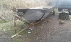 Самодельная алюминиевая лодка