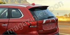 Спойлер багажника. Mitsubishi Outlander, GF2W, GF3W, GF4W, GF7W, GF8W, GG2W, GG3W 4B11, 4B12, 4J11, 4J12, 6B31