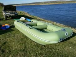 "Продам надувную лодку-катамаран Ротан ""Братан"" 410к"