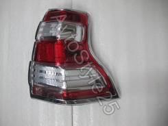 Накладка на стоп-сигнал. Toyota Land Cruiser Prado, GDJ150, GDJ150L, GDJ150W, GDJ151W, GRJ150, GRJ150L, GRJ150W, GRJ151W, KDJ150, KDJ150L, LJ150, TRJ1...