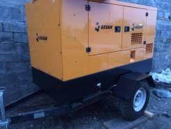 Дизельный генератор 24 кВт Gesan в капоте на шасси