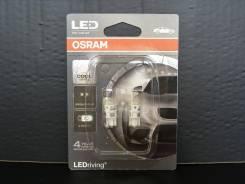 Комплект ламп Osram T10 W5W LEDriving Standard 2880CW-02B 6000K 2шт.