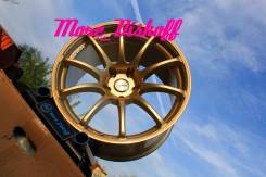 More_Diskoff* Бесподобные золотые  Advan  R18 5х114.3 Отправляем*