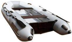 Лодка моторная Ковчег Пилот М-330 НДНД киль, надувное дно