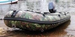 Лодка Badger HL (Hunting Line) 300, фанерный пайол