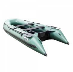 Надувная лодка ПВХ HDX Classic 300 с фанерным пайолом, зелёная