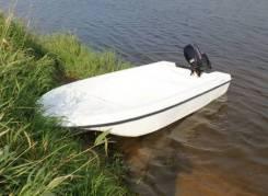 Стеклопластиковая лодка Laker T360 Plus, белая