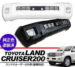 Бампер передний Toyota Land Cruiser 200 2012(в сборе). Отправка по Миру