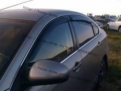 Дефлекторы окон (ветровики) Nissan Almera 2012-