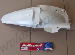 Крыло заднее Polisport Yamaha YZ250/450F 14-18 Белый 8579600002