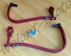 Защита рук/ручек на толстый руль 28,6 Красный Accel (Taiwan) HG-02 Red
