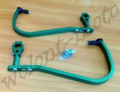 Защита рук/ручек на тонкий руль 22,2 Зеленый Accel (Taiwan) HG-01 Green