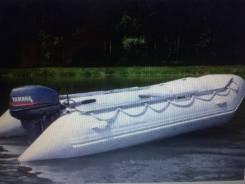 Лодка пвх Brig 3,5м жесткое дно с телегой