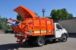 ГАЗ ГАЗон Next. Новый мусоровоз на шасси Газон Next - МК-1440 9 куб., 4 430куб. см.