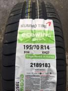 Kumho Ecowing ES01 KH27. Летние, без износа, 4 шт