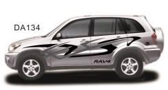 Наклейки на Toyota RAV4, оракал, комплект. Отправка.