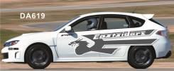 Наклейки на Subaru Impreza WRX STI GRB GH, оракал, комплект. Отправка.