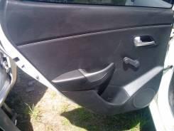 Обшивка двери задней левой хетчбек Kia Rio 2011=>